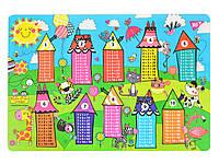 Подложка для стола детская Таблица Умножения Rachel Houses      код: 491644