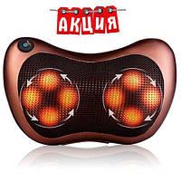 Массажная роликовая подушка для спины и шеи Massage pillow A58