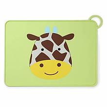 Skip Hop Силіконовий килимок підстилка для їжі Жирафик Zoo Fold Go Silicone Kids Placemat Jules Giraffe
