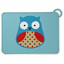 Skip Hop Силіконовий килимок підстилка для їжі Совушка Zoo Fold Go Silicone Kids Placemat Otis Owl