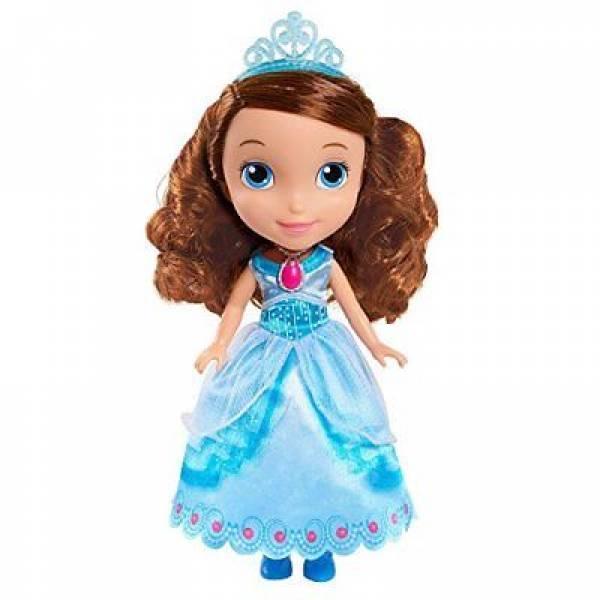 Just Play София Прекрасная в праздничном наряде Disney Sofia The First Royal Sofia Crystal Dress Costume