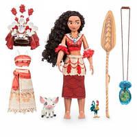 Disney Store Поющая классическая кукла Моана Ваяна с аксессуарами Moana Singing Doll, фото 1