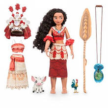 Disney Store Поющая классическая кукла Моана Ваяна с аксессуарами Moana Singing Doll
