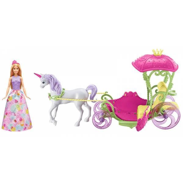 Barbie Барби Дримтопия Экипаж Свитвиль карета DYX31 Dreamtopia Sweetville Kingdom Carriage