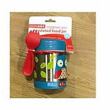 Skip Hop Детский термос кружка для еды Сова Zoo insulated food Jar Owl, фото 3