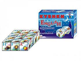"Кубики ""Английский алфавит ТехноК"", 12 кубиков Технок 1325 ( TC17790)"
