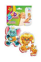 "Беби пазли ""Зоопарк"" VT3208-01 Vladi Toys (TC18120)"