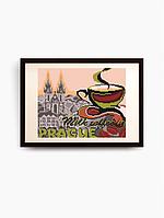 Схема для вышивки бисером В Праге