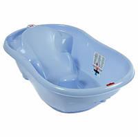 Детская ванночка для купания Ok Baby Onda, цвет синий