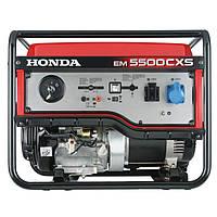 Однофазный бензиновый генератор HONDA EM5500CXS2 (5,5 кВт)