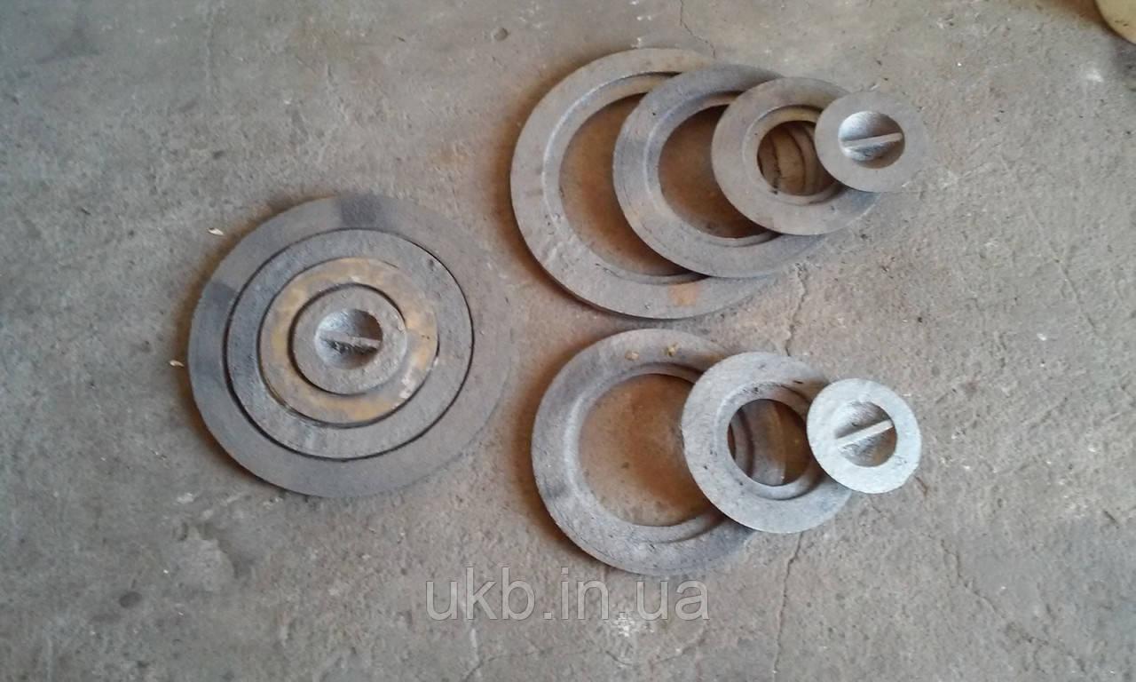 Кольца, конфорки чугунные (диаметр 140 мм)