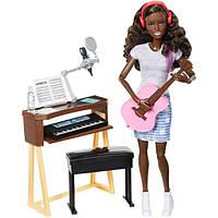 Barbie Барби с гитарой и пианино афроамериканка FCP74 Girls Music Activity Playset, фото 1