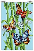 Схема для вышивки бисером Бабочки