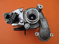 Турбина 68 кв б/у для Peugeot Partner 1.6 HDi. С электромагнитным клапаном на Пежо Партнер 1.6 ХДИ.