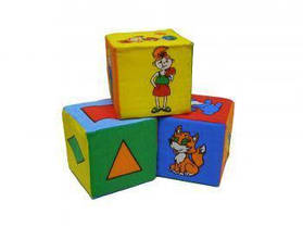 Набор из 3-х кубиков 7Toys  ( TC11402)