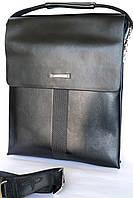 Брендовая мужская сумка Langsa! Кожа. 22,5х28