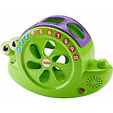 Fisher-Price Музыкальная улитка-сортер Rock 'n Sort Snail Pail Toy Playset, фото 4