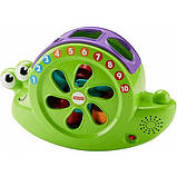 Fisher-Price Музыкальная улитка-сортер Rock 'n Sort Snail Pail Toy Playset, фото 5