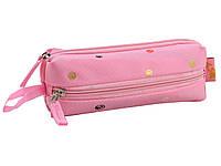 Пенал мягкий  YES  TP-07 Dots pink   код: 532375