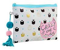 Пенал-косметичка YES TP-13 Crazy Cat код: 532500