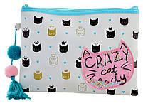 Пенал-косметичка YES TP-13 Crazy Cat код: 532500, фото 3