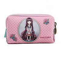 Кошелек неопреновый W-01 ''Santoro Rosebud''       код: 532677, фото 2