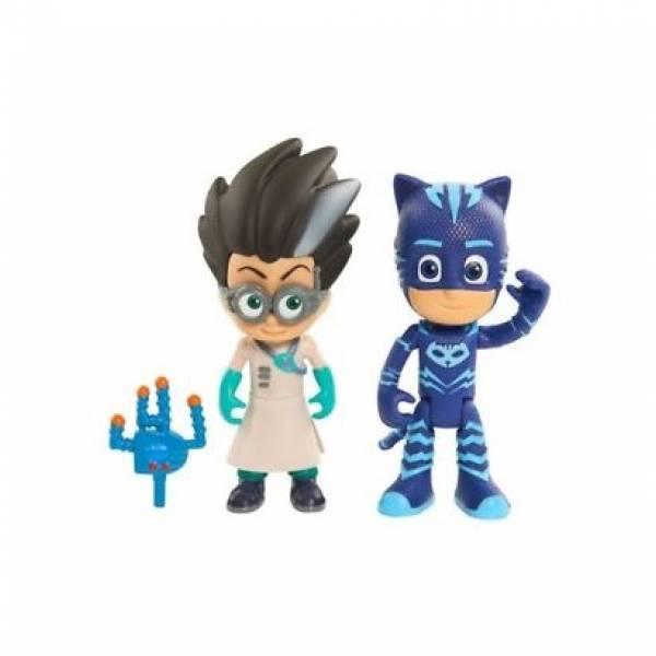 Just Play Герои в масках Фигурки Кетбой и Ромео PJ Masks Figure Pack Set Catboy Romeo Toy