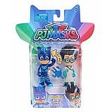 Just Play Герои в масках Фигурки Кетбой и Ромео PJ Masks Figure Pack Set Catboy Romeo Toy, фото 2