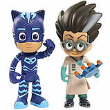 Just Play Герои в масках Фигурки Кетбой и Ромео PJ Masks Figure Pack Set Catboy Romeo Toy, фото 3