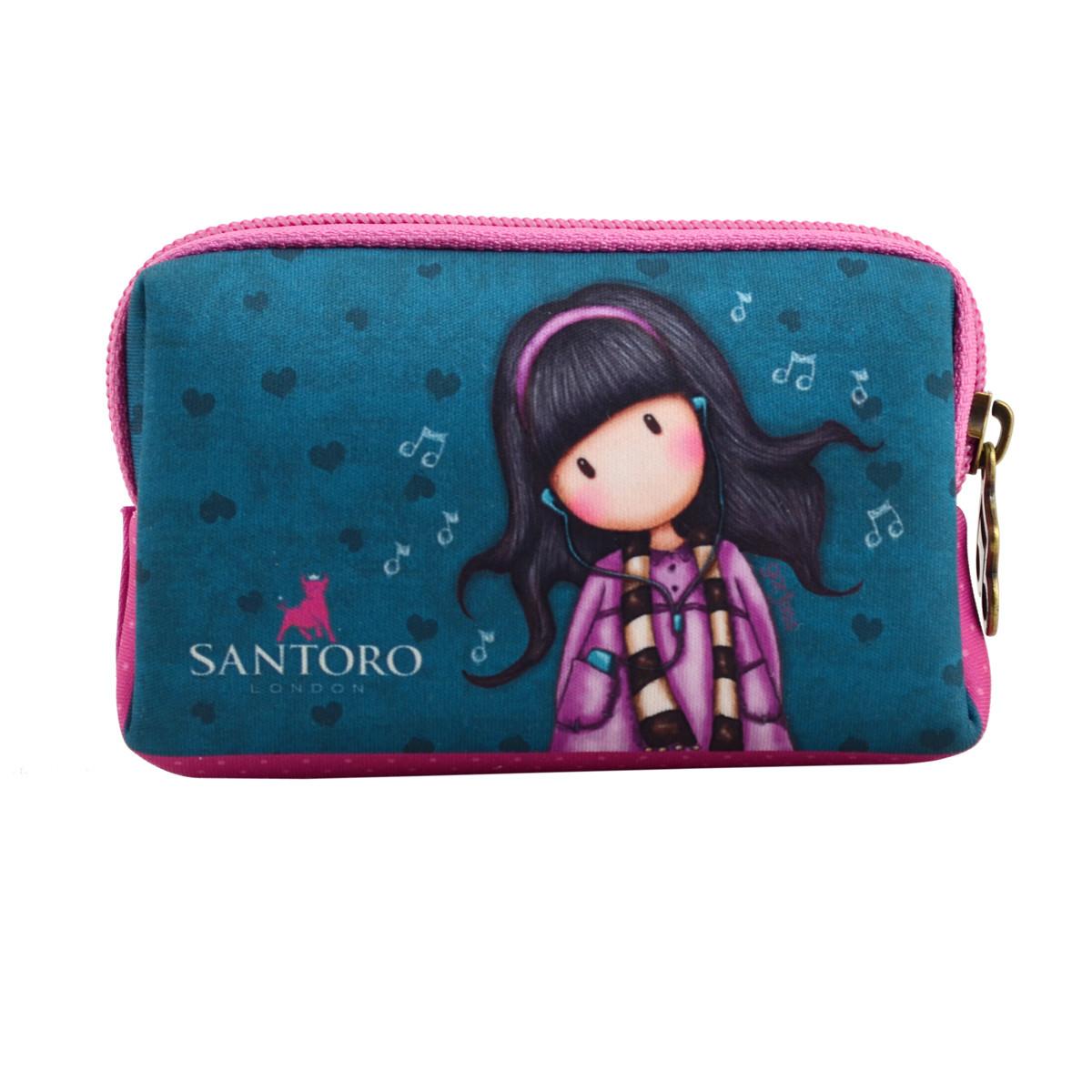 Кошелек неопреновый W-01 Santoro Little Song код: 532708