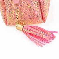 Пенал-косметичка YES «Supra», розовая код: 532717, фото 3