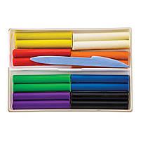 Пластилин Фантазия 8 цвета 25С1522-08 со стеком код: 540348, фото 3