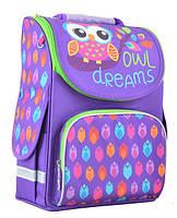 Рюкзак школьный каркасный ортопедический Smart PG-11 Owl, 34*26*14        код: 554458