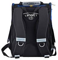Рюкзак школьный ортопедический каркасный Smart PG-11 Car, 34*26*14 код: 554545, фото 4