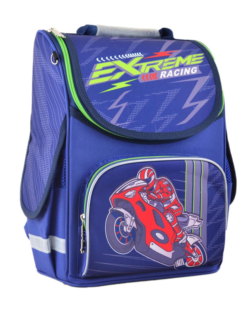 Рюкзак школьный ортопедический каркасный Smart PG-11 Extreme racing, 34*26*14 код: 554551