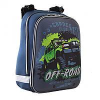 Рюкзак школьный каркасный ортопедический 1 Вересня H-12 Off-road, 38*29*15        код: 554587