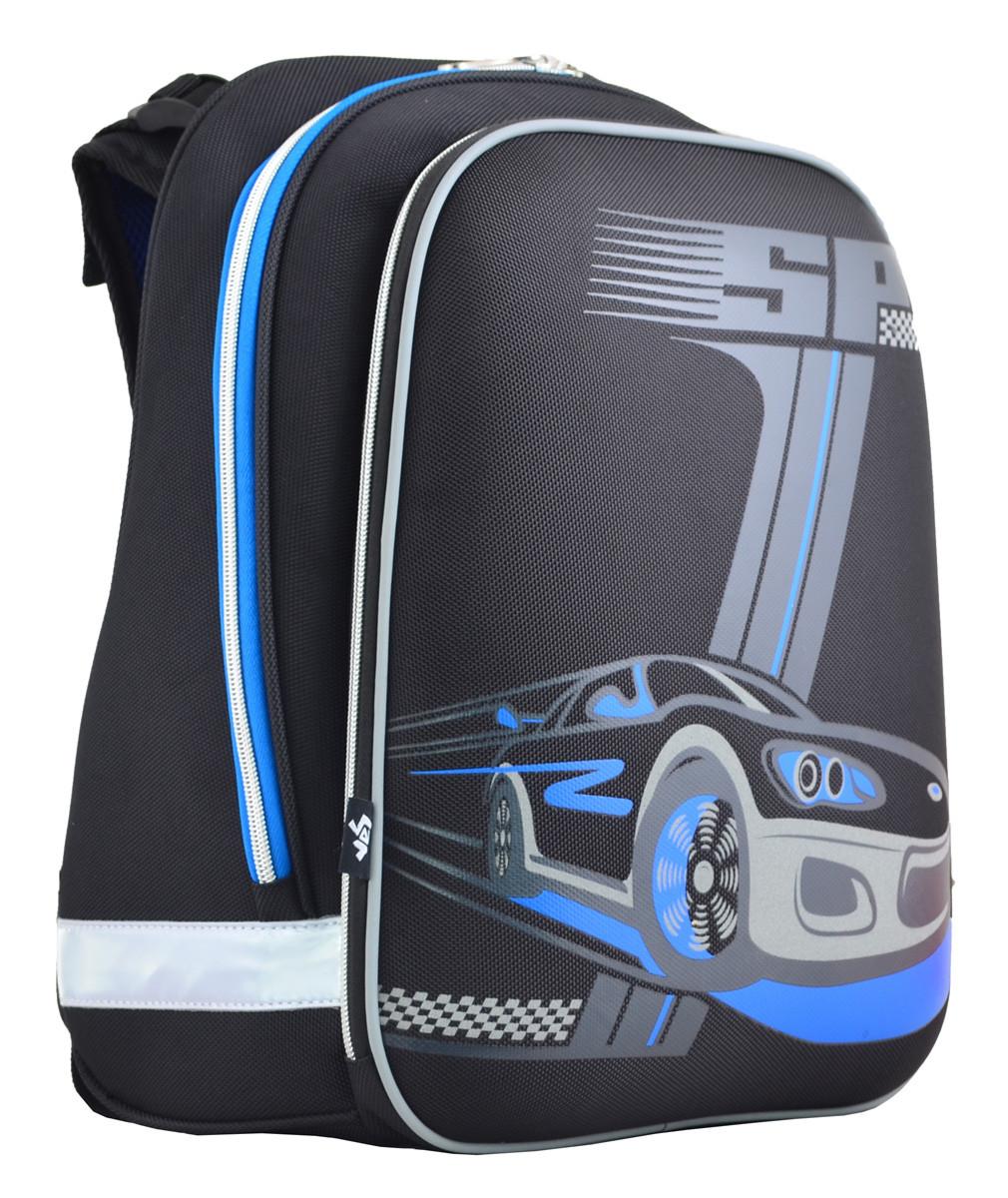 Рюкзак школьный ортопедический каркасный  YES  H-12 SP, 38*29*15 код: 554603