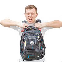 Рюкзак школьный ортопедический для подростка YES T-48 Move, 42.5*31*19 код: 554896, фото 5