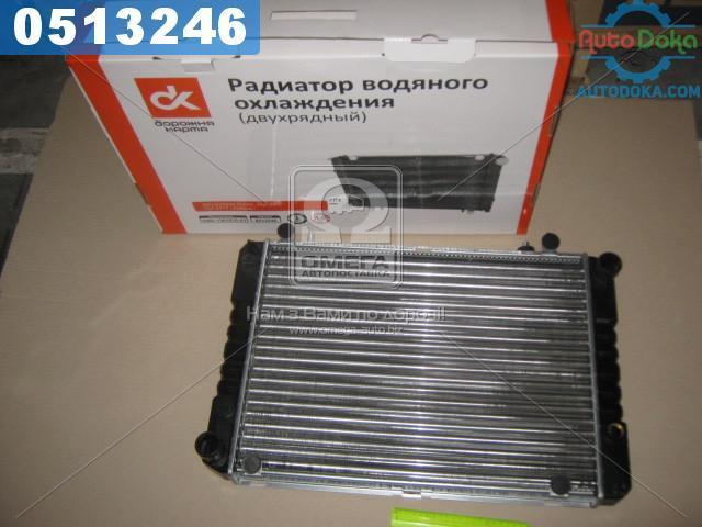Радиатор водяного охлаждения ГАЗ 3302 (под рамку) 42 мм (Дорожная Карта)  3302-1301010-01