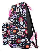 Рюкзак городской прогулочный YES ST-17 Crazy OOPS!, 42*32*12 код: 554980, фото 3
