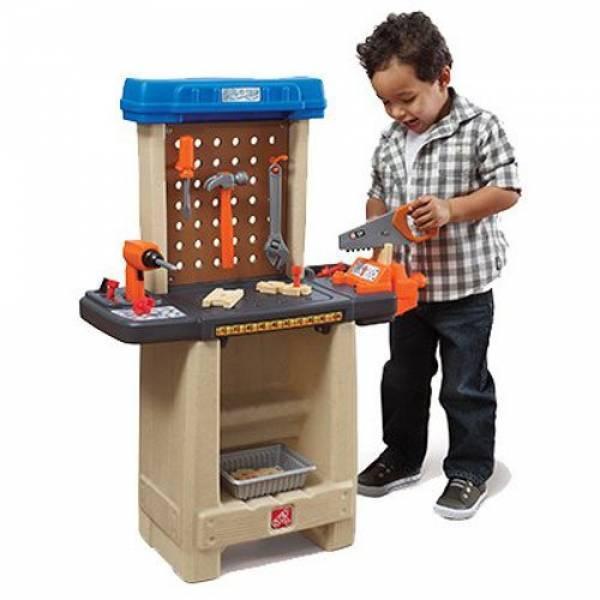 Step2 Игровой набор мастерская Помощник Handy Helpers Workbench Building Set