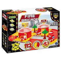 """Пластиковый трек """"Play Tracks City: Пожарная станция"""", 3,1 м 7Toys 53510 ( TC113058)"""
