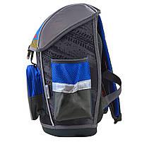 Рюкзак школьный ортопедический каркасный 1 Вересня H-26 Off-Road, 40*30*16 код: 555088, фото 5