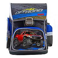 Рюкзак школьный ортопедический каркасный 1 Вересня H-26 Off-Road, 40*30*16 код: 555088, фото 8