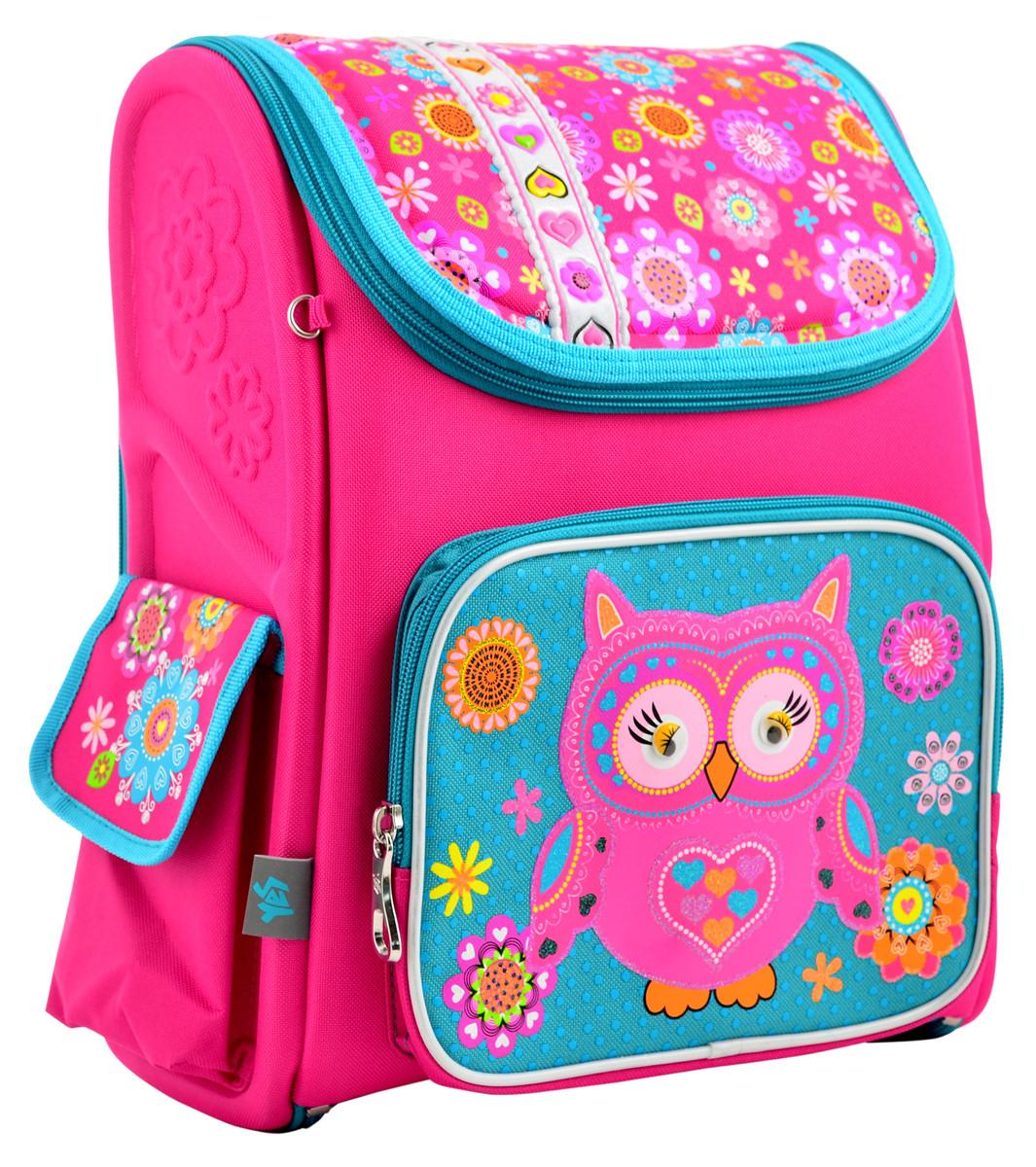 Рюкзак школьный ортопедический каркасный 1 Вересня H-17 Owl, 34.5*28*13.5 код: 555100