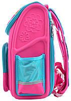 Рюкзак школьный ортопедический каркасный 1 Вересня H-17 Owl, 34.5*28*13.5 код: 555100, фото 3