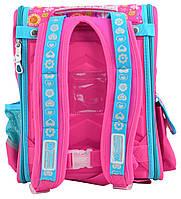 Рюкзак школьный ортопедический каркасный 1 Вересня H-17 Owl, 34.5*28*13.5 код: 555100, фото 4