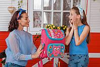 Рюкзак школьный ортопедический каркасный 1 Вересня H-17 Owl, 34.5*28*13.5 код: 555100, фото 5