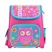 Рюкзак школьный ортопедический каркасный 1 Вересня H-17 Owl, 34.5*28*13.5 код: 555100, фото 6