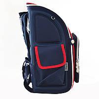 Рюкзак школьный ортопедический каркасный 1 Вересня H-18 Harvard, 35*28*14.5 код: 555108, фото 2